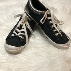 Women's Coach Black Signature C Shoes size 8 1/2